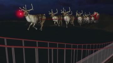 Безопасното пътуване на Дядо Коледа се проследява със специални сензори