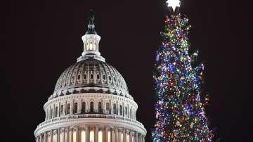 Грейна елхата пред Капитолия във Вашингтон