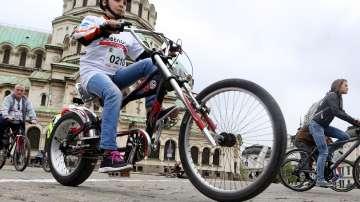 Велосипедисти се събират за шествие в София