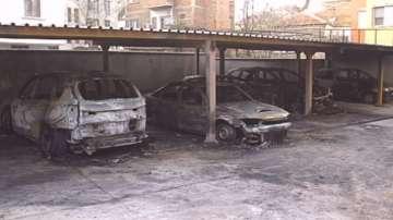 6 автомобила изгоряха в Пловдив