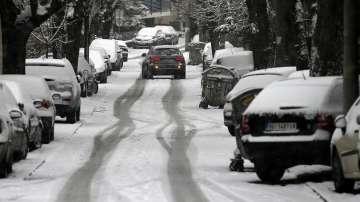 Транспортен хаос заради лошото време на Балканите