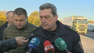Петима са ранени след верижната катастрофа на АМ Тракия край Ихтиман