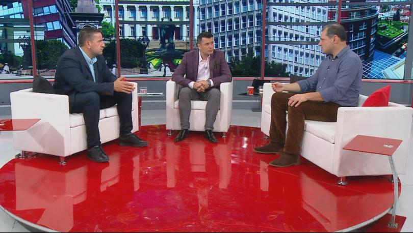 Георги Харизанов, политически анализатор, и Иво Инджов, експерт по политически