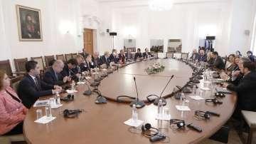 Външните комисии на България, Румъния и Турция проведоха смесено заседание