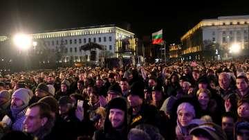 Около 20 хиляди души посрещнаха Новата година в центъра на София