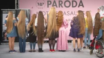26-годишна литовка спечели конкурс за най-дълга коса