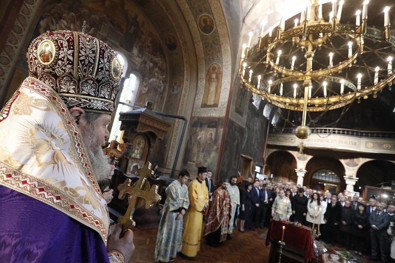 молебен започна тържественото отбелязване 140 търновска конституция