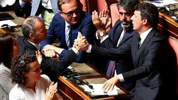 Гласуват вота на доверие за италианския премиер Конте