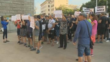 Марш за законност в подкрепа на Иван Гешев се провежда в София