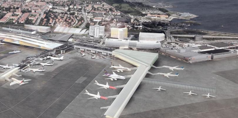 снимка 1 Евакуираха терминал на летището в Копенхаген заради подозрителен багаж