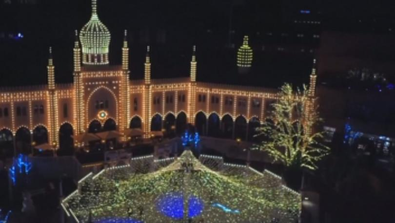 Снимка: Фестивал на светлината започна в Копенхаген