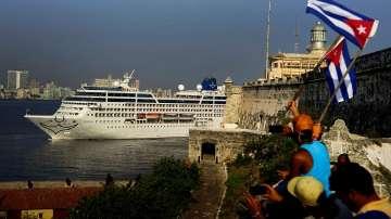 Американски круизен кораб пристигна в Куба за първи път от 50 години
