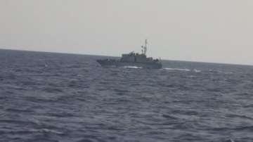 Либия спря хуманитарен кораб в Средиземно море