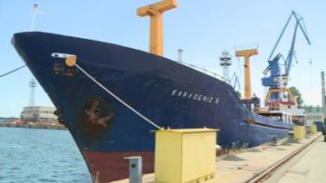 Пожар в машинното отделение на турски кораб отне живота на един човек