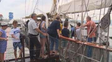50 деца получиха морски имена на борда на ветрохода Калиакра