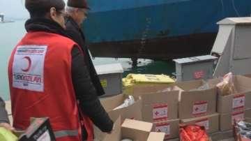 Хуманитарна мисия за бедстващ кораб край Бургас