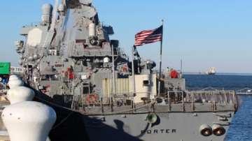 """Миноносецът """"Портър"""", атакувал Сирия, е бил на операция във Варна"""