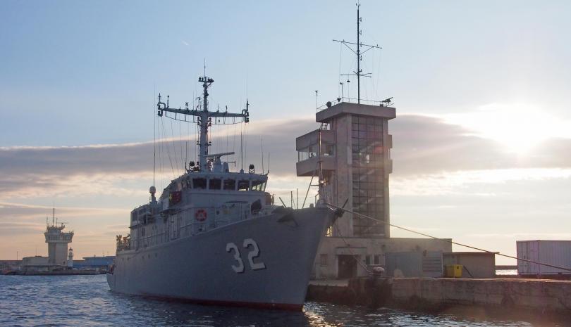 Снимка: Отвориха офертите за доставка на два нови патрулни кораба за ВМС