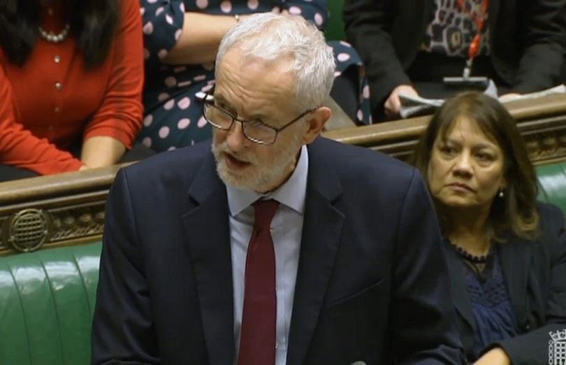 Лидерът на британската опозиция Джереми Корбин потвърди, че подкрепя идеята