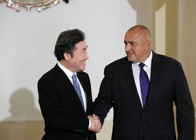Това заяви премиерът Бойко Борисов след среща с премиера на