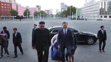 Започна тридневната среща на върха между Северна и Южна Корея