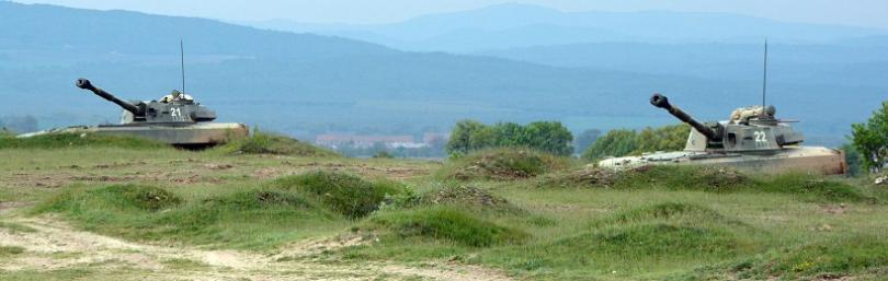 снимка 1 Нова система за управление на артилерията тестваха на военното учение в Корен