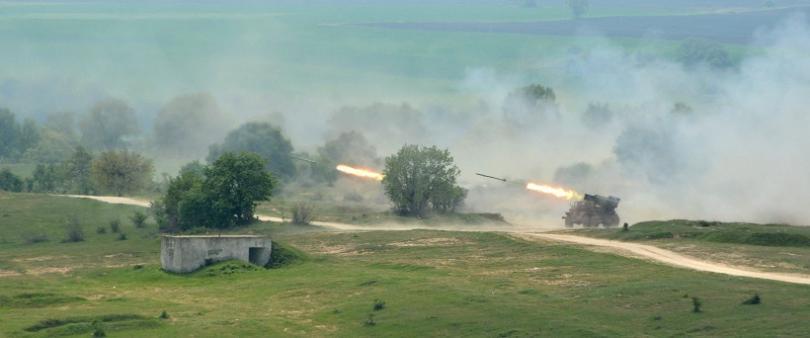 """Системи за залпов огън БМ-21 """"Град"""""""