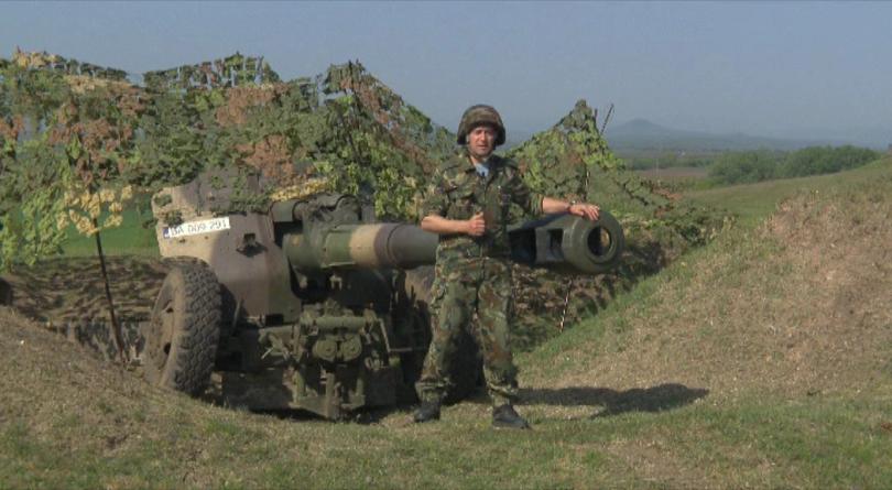 152 мм. гаубица - най-мощното и най-далекобойно оръжие в българската армия
