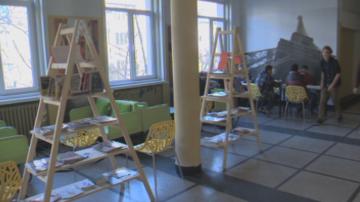 Коридорите на Френската гимназия се изпълниха с живот