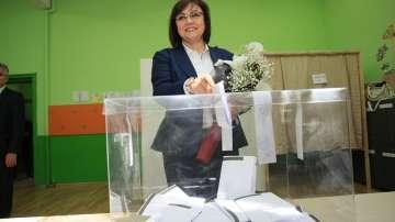 Корнелия Нинова: Гласувах за промяна и справедливост