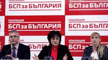БСП няма да участва в широка коалиция с ГЕРБ