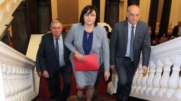 БСП внесе вота на недоверие към правителството