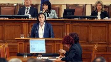 Нинова: БСП иска оставката на правителството заради погрома в здравеопазването