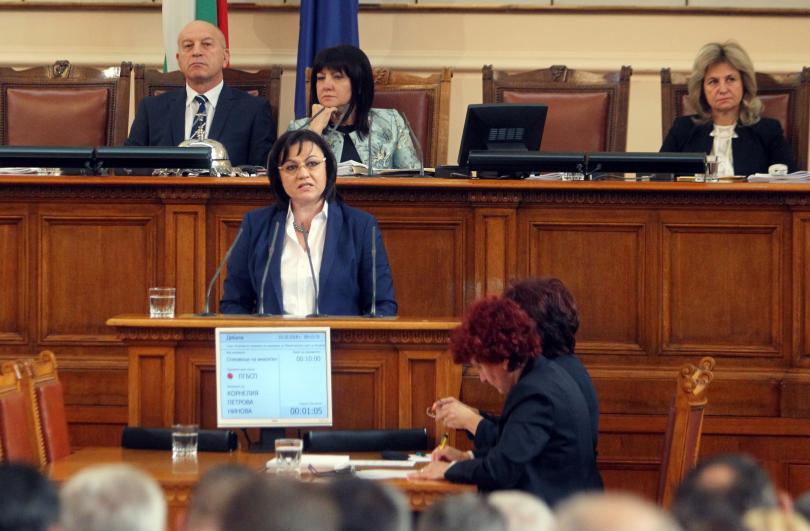 БСП иска оставката на правителството заради погрома в здравеопазването в