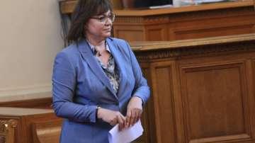 Нинова с остри критики към Борисов заради избора на нов главен прокурор