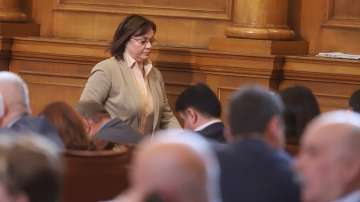 Остри реплики между ГЕРБ и БСП заради доклада на ЕК