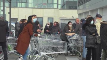 Над 100 души са заразени с коронавируса в Италия