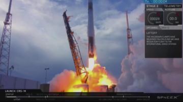 Космическият товарен кораб Дракон достигна орбита