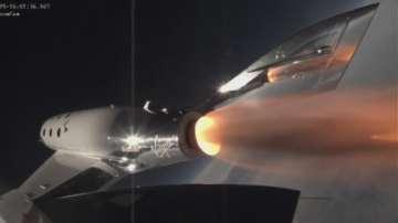 Върджин Атлантик изпита успешно космически кораб за туристи
