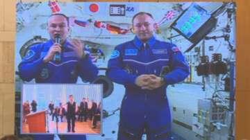 Космонавти от Международната космическа станция разговаряха с български ученици