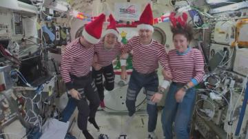 Как ще посрещнат Коледа на Международната космическа станция?