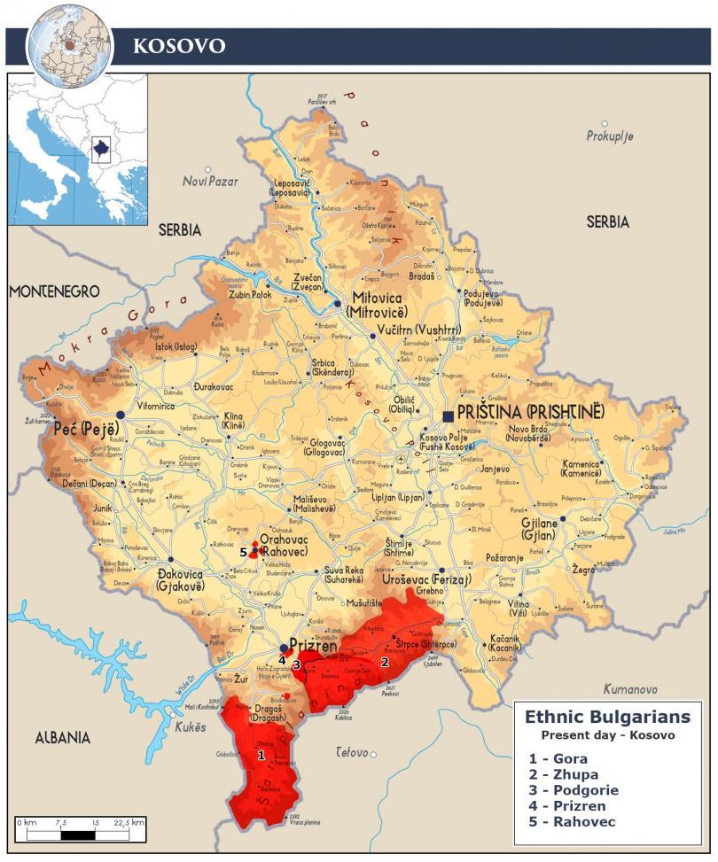 Президентът на Косово Хашим Тачи, повтори идеята за корекции на