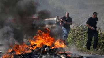 Блокираха пътя на Александър Вучич до косовското село Банье