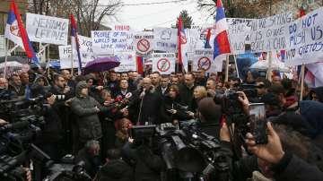 Косовските сърби обявиха бойкот на властта в Прищина