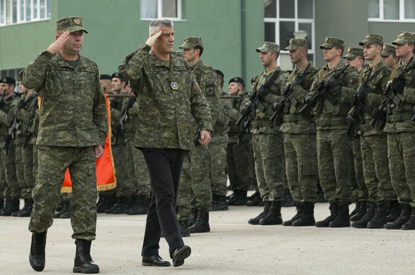 Парламентът на Косово одобри днес създаването на армия от 5000
