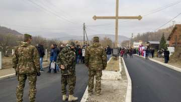 Арести на сърби в Митровица, силовите структури в Белград заседават спешно