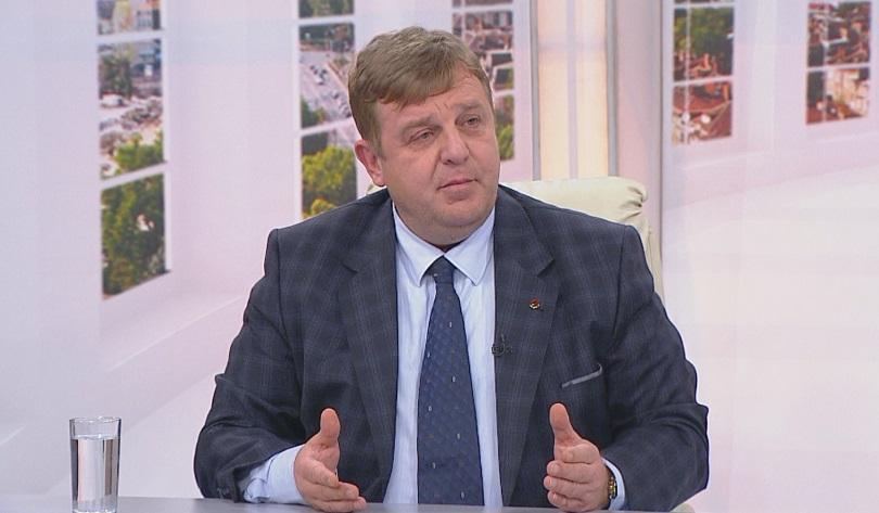 Красимир Каракачанов: Армията ще отиде на границата заради бежанската вълна