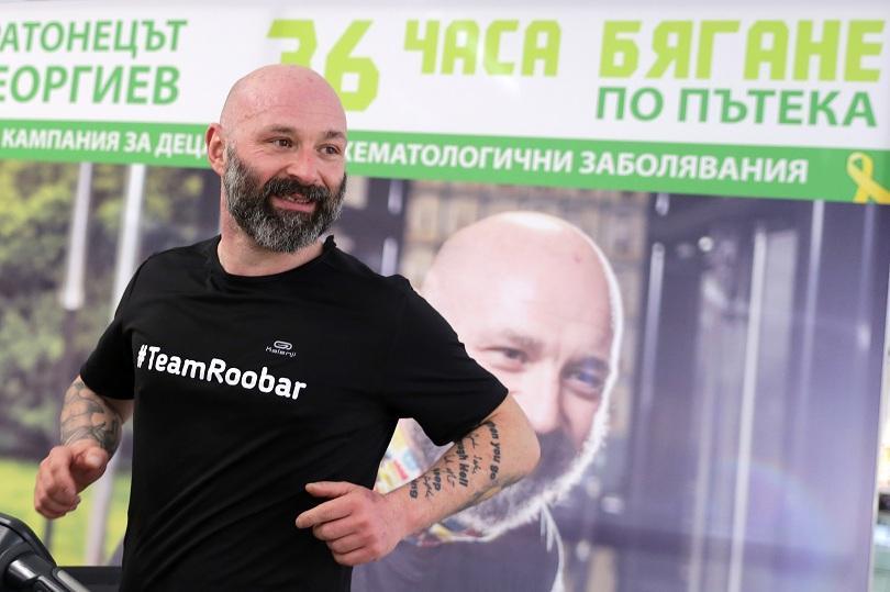 Ултрамаратонецът Красимир Георгиев успя да постигне голямата си цел да