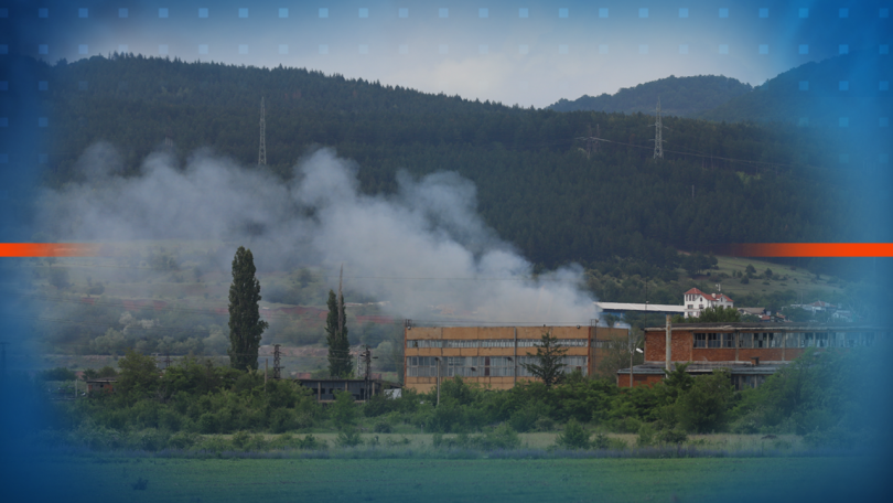"Пожар горя в складове в бившия комбинат ""Кремиковци"". Няма пострадали"