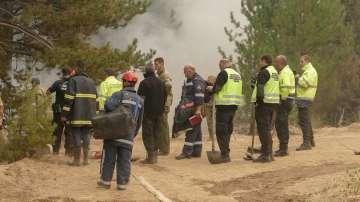 Пожарът в Кресненското дефиле прекъсна движението на влаковете